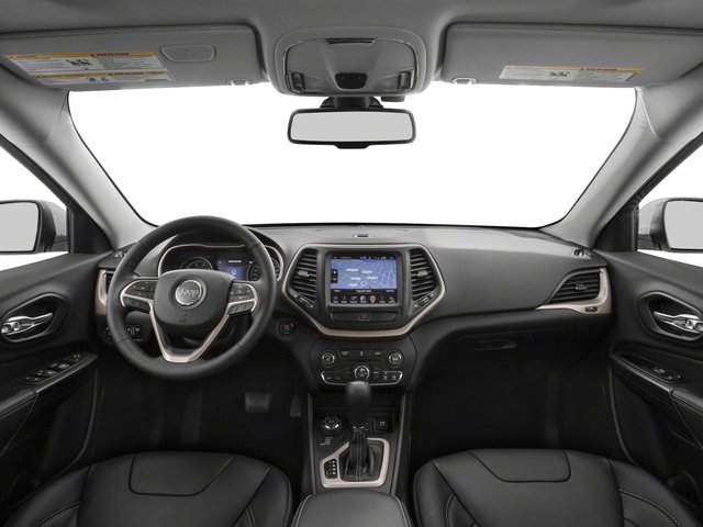 2016 Jeep Cherokee Prices and Values Utility 4D Limited 2WD full dashboard