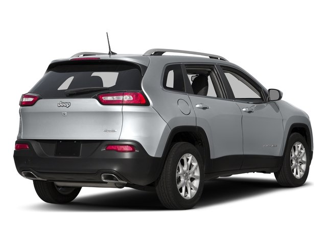 2016 Jeep Cherokee Prices and Values Utility 4D High Altitude 4WD side rear view