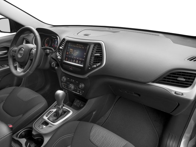 2016 Jeep Cherokee Prices and Values Utility 4D High Altitude 4WD passenger's dashboard