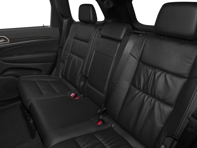 2016 Jeep Grand Cherokee Pictures Grand Cherokee Utility 4D Limited 4WD photos backseat interior