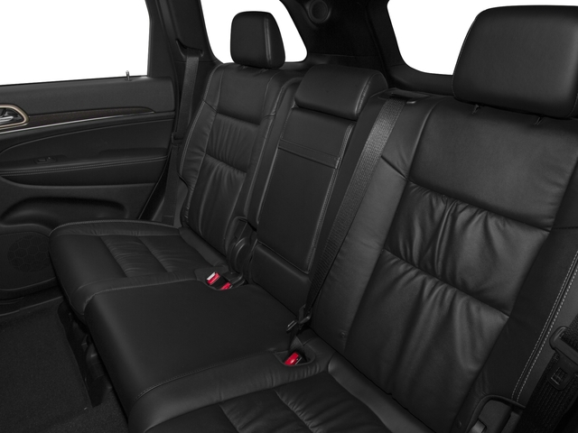 2016 Jeep Grand Cherokee Pictures Grand Cherokee Utility 4D Limited 2WD photos backseat interior
