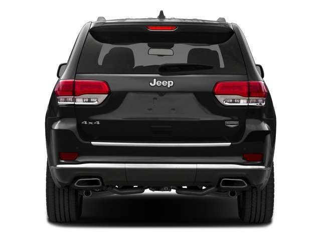 2016 Jeep Grand Cherokee Prices and Values Utility 4D Summit Diesel 2WD rear view