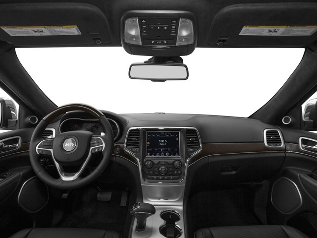 2016 Jeep Grand Cherokee Prices and Values Utility 4D Summit 4WD full dashboard