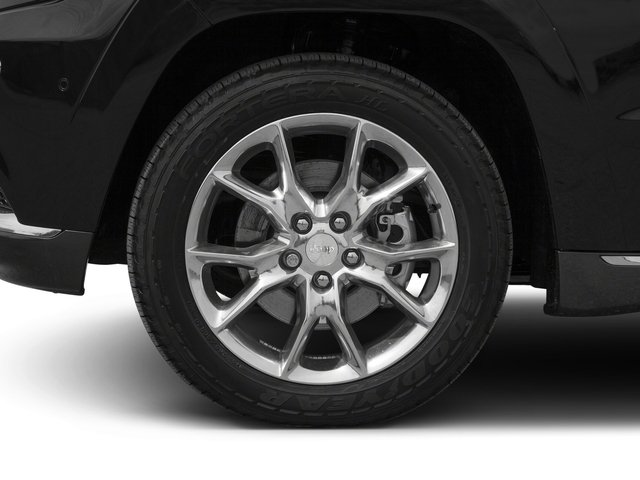2016 Jeep Grand Cherokee Prices and Values Utility 4D Summit 4WD wheel
