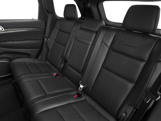 2016 Jeep Grand Cherokee Prices and Values Utility 4D Summit 4WD backseat interior