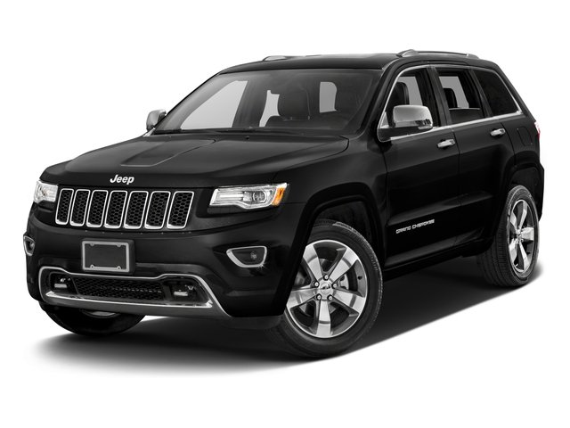 2016 Jeep Grand Cherokee Prices and Values Utility 4D High Altitude 2WD side front view