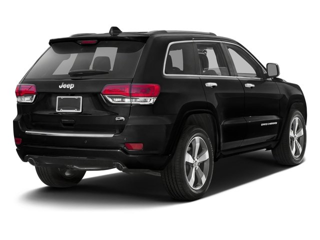 2016 Jeep Grand Cherokee Prices and Values Utility 4D High Altitude 4WD Turbo side rear view