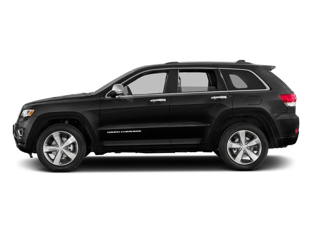 2016 Jeep Grand Cherokee Prices and Values Utility 4D Overland 2WD side view