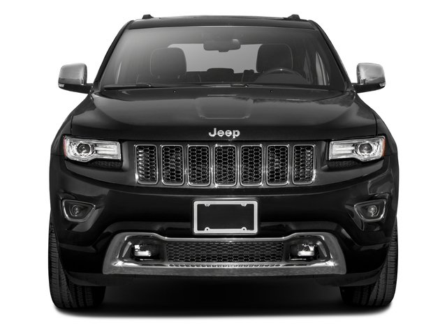 2016 Jeep Grand Cherokee Prices and Values Utility 4D Overland 2WD front view