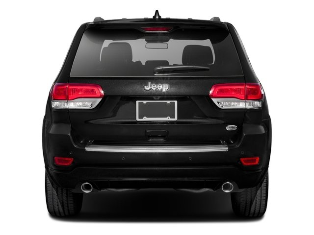 2016 Jeep Grand Cherokee Prices and Values Utility 4D High Altitude 2WD rear view