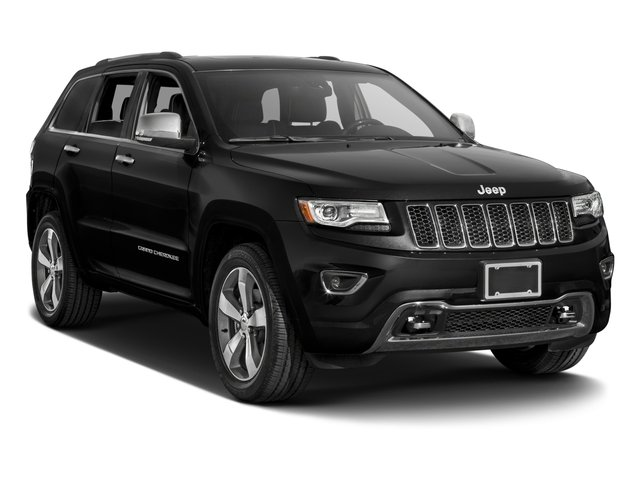 2016 Jeep Grand Cherokee Prices and Values Utility 4D Overland 2WD side front view