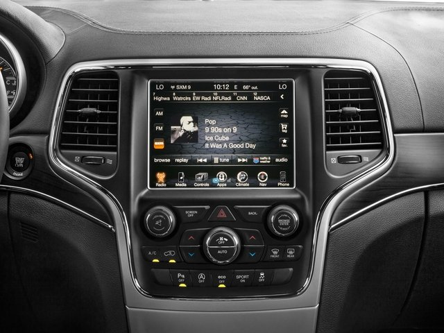 2016 Jeep Grand Cherokee Prices and Values Utility 4D High Altitude 2WD stereo system