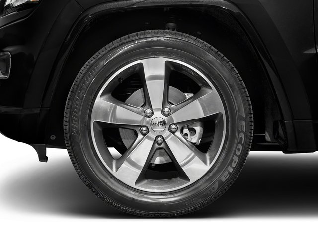 2016 Jeep Grand Cherokee Prices and Values Utility 4D Overland 2WD wheel