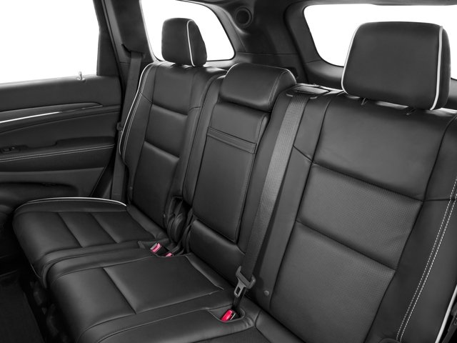 2016 Jeep Grand Cherokee Prices and Values Utility 4D Overland 2WD backseat interior