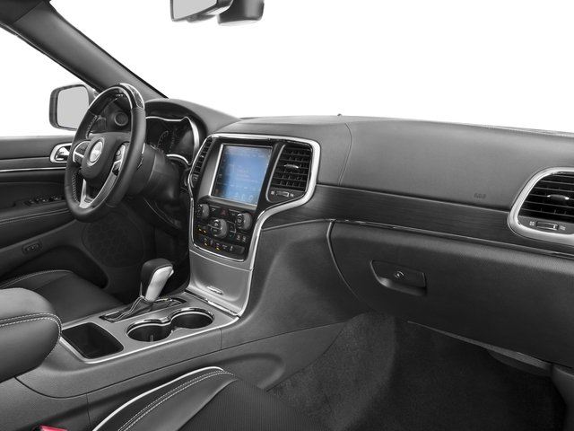 2016 Jeep Grand Cherokee Prices and Values Utility 4D High Altitude 2WD passenger's dashboard