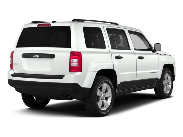 2016 Jeep Patriot Prices and Values Utility 4D High Altitude 4WD I4 side rear view