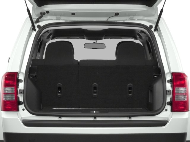 2016 Jeep Patriot Prices and Values Utility 4D High Altitude 4WD I4 open trunk