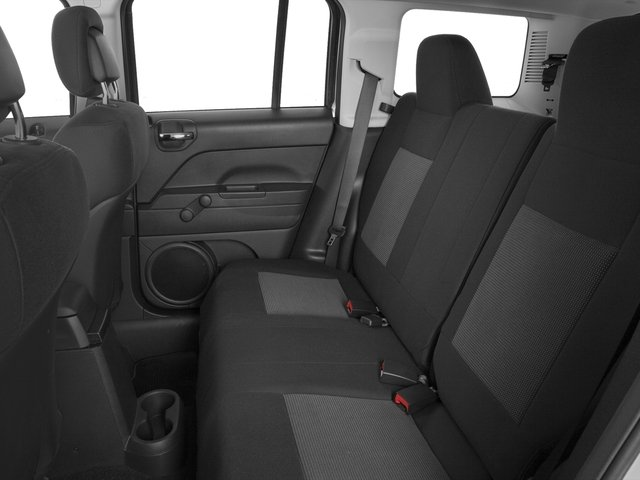2016 Jeep Patriot Prices and Values Utility 4D Sport 4WD backseat interior