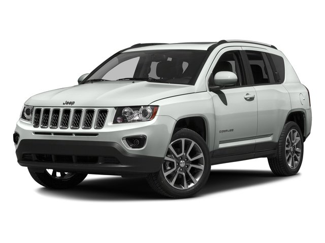 2016 Jeep Compass Prices and Values Utility 4D Latitude 4WD side front view