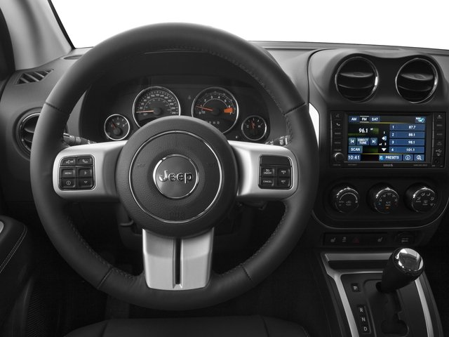 2016 Jeep Compass Prices and Values Utility 4D Latitude 4WD driver's dashboard
