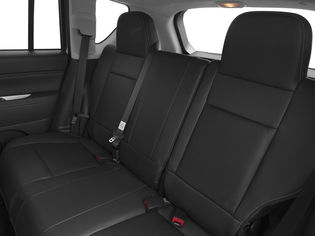 2016 Jeep Compass Prices and Values Utility 4D Latitude 4WD backseat interior