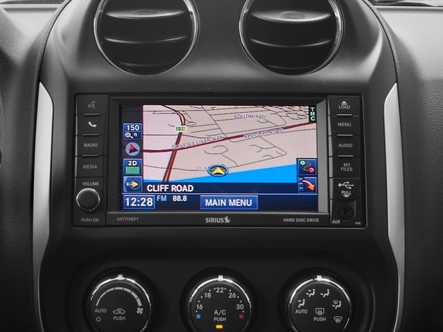 2016 Jeep Compass Prices and Values Utility 4D Latitude 4WD navigation system