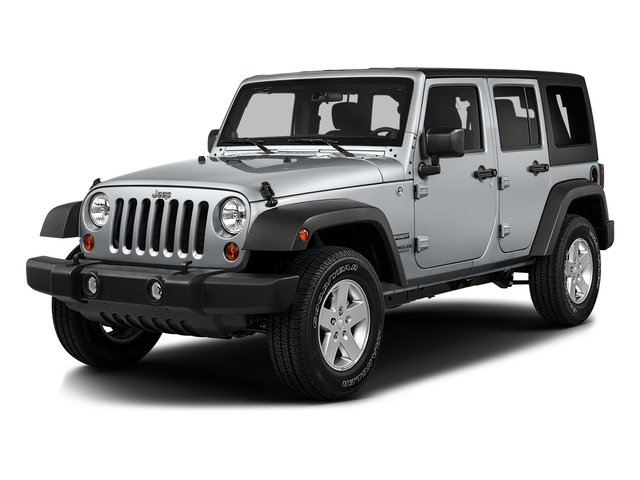 2016 Jeep Wrangler Unlimited Prices and Values Utility 4D Unlimited Sport 4WD V6 side front view