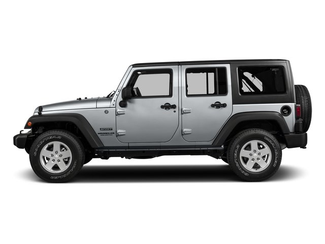 2016 Jeep Wrangler Unlimited Prices and Values Utility 4D Unlimited Sport 4WD V6 side view