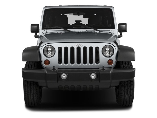 2016 Jeep Wrangler Unlimited Prices and Values Utility 4D Unlimited Sport 4WD V6 front view