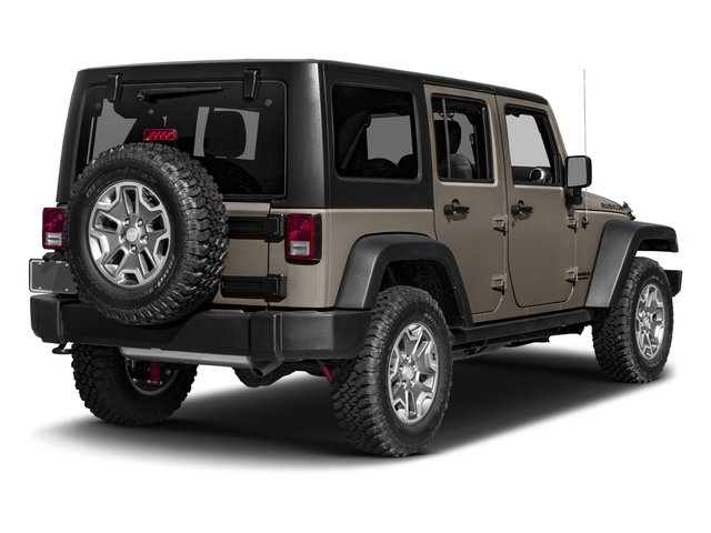 2016 Jeep Wrangler Unlimited Prices and Values Utility 4D Unlimited Rubicon 4WD V6 side rear view
