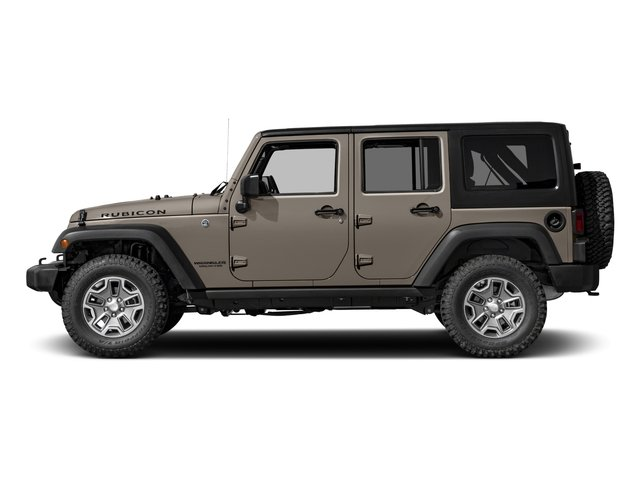 2016 Jeep Wrangler Unlimited Prices and Values Utility 4D Unlimited Rubicon 4WD V6 side view
