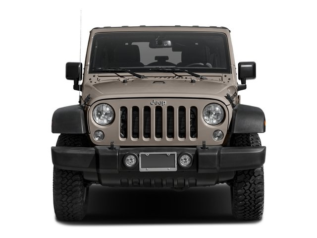 2016 Jeep Wrangler Unlimited Prices and Values Utility 4D Unlimited Rubicon 4WD V6 front view