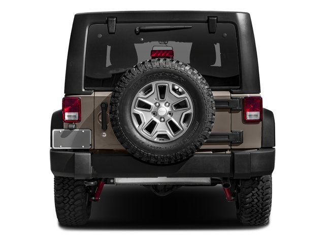 2016 Jeep Wrangler Unlimited Prices and Values Utility 4D Unlimited Rubicon 4WD V6 rear view