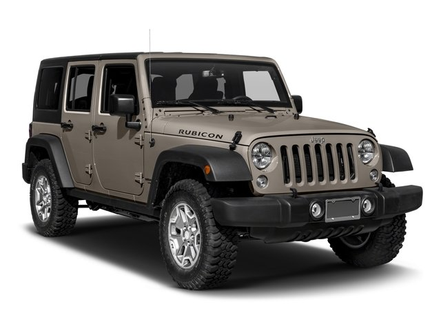 2016 Jeep Wrangler Unlimited Prices and Values Utility 4D Unlimited Rubicon 4WD V6 side front view