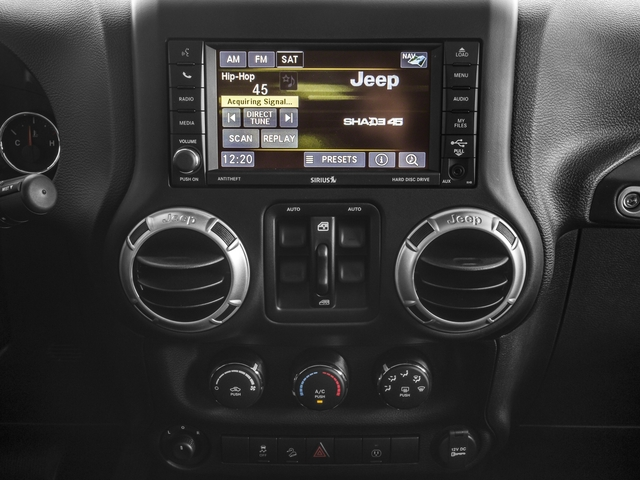 2016 Jeep Wrangler Unlimited Prices and Values Utility 4D Unlimited Rubicon 4WD V6 stereo system