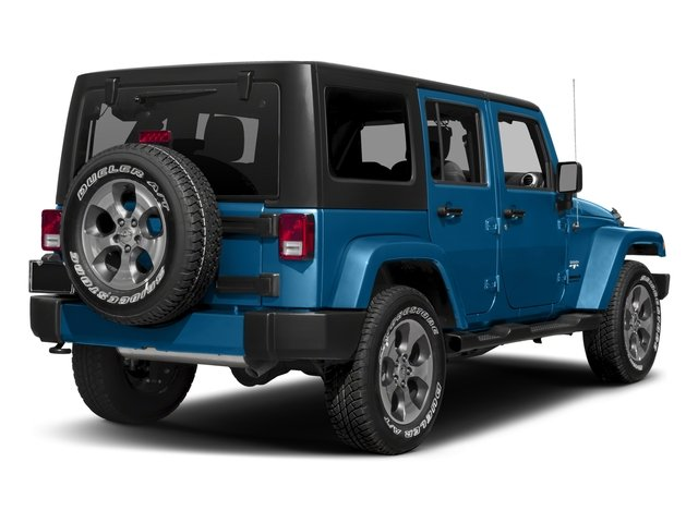 2016 Jeep Wrangler Unlimited Prices and Values Utility 4D Unlimited Sahara 4WD V6 side rear view