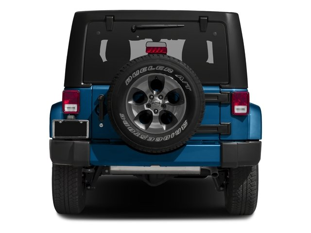 2016 Jeep Wrangler Unlimited Pictures Wrangler Unlimited Utility 4D Unlimited Sahara 4WD V6 photos rear view