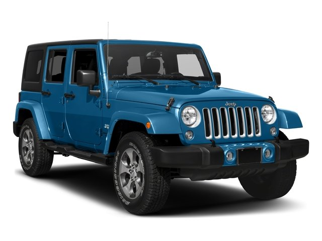 2016 Jeep Wrangler Unlimited Prices and Values Utility 4D Unlimited Sahara 4WD V6 side front view