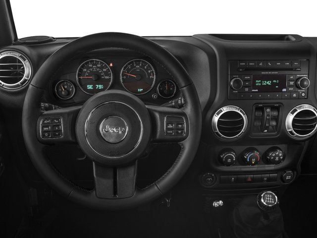 2016 Jeep Wrangler Unlimited Pictures Wrangler Unlimited Utility 4D Unlimited Sahara 4WD V6 photos driver's dashboard