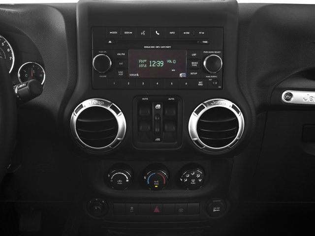 2016 Jeep Wrangler Unlimited Prices and Values Utility 4D Unlimited Sahara 4WD V6 stereo system