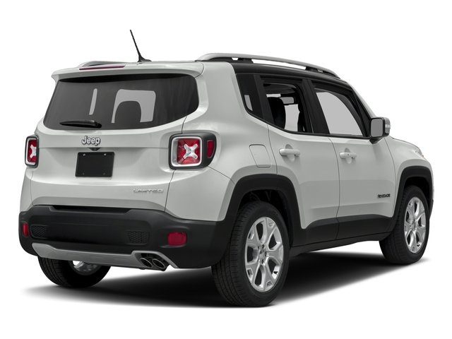 2016 Jeep Renegade Prices and Values Utility 4D Limited 2WD I4 side rear view