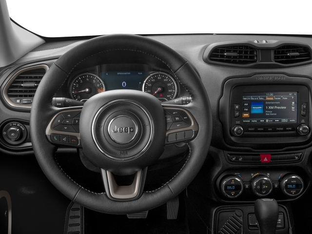 2016 Jeep Renegade Prices and Values Utility 4D Limited 2WD I4 driver's dashboard