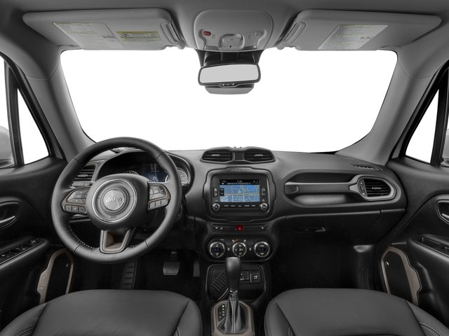 2016 Jeep Renegade Prices and Values Utility 4D Limited 2WD I4 full dashboard