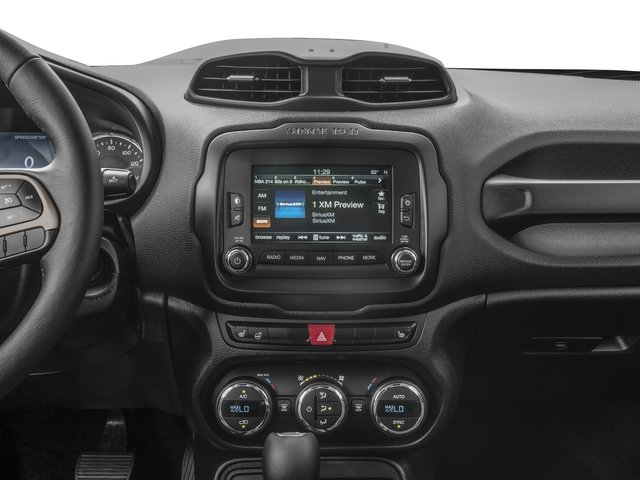2016 Jeep Renegade Prices and Values Utility 4D Limited 2WD I4 stereo system