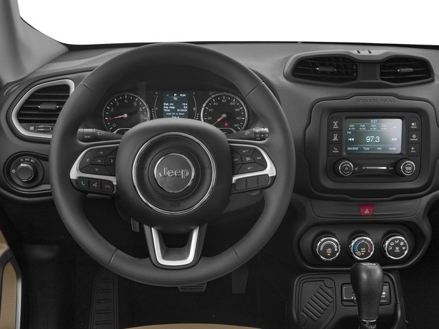 2016 Jeep Renegade Prices and Values Utility 4D Sport AWD I4 driver's dashboard