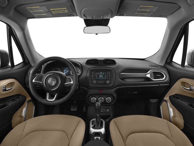 2016 Jeep Renegade Prices and Values Utility 4D Sport AWD I4 full dashboard