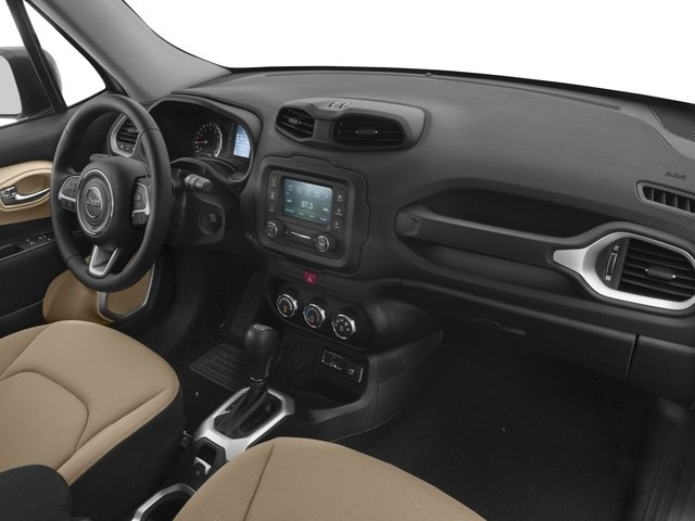 2016 Jeep Renegade Prices and Values Utility 4D Sport AWD I4 passenger's dashboard