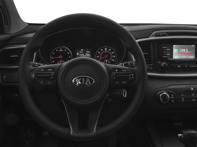 2016 Kia Sorento Prices and Values Utility 4D LX 2WD V6 driver's dashboard
