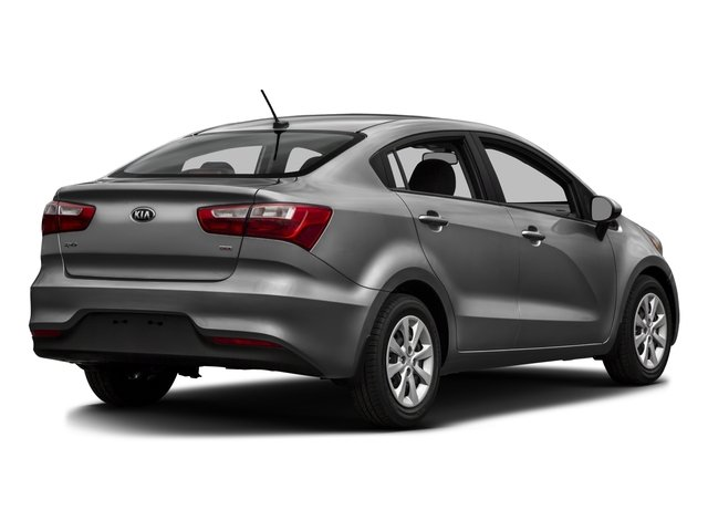 2016 Kia Rio Prices and Values Sedan 4D LX I4 side rear view