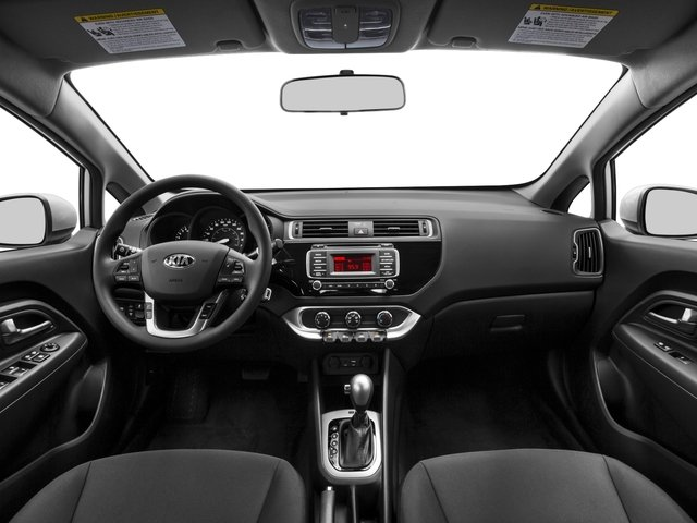2016 Kia Rio Prices and Values Sedan 4D LX I4 full dashboard